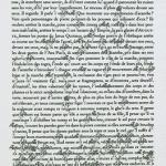 Extrait d'une page fleurie d''Anastylose'